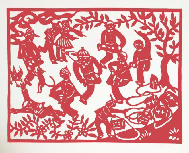 Happy Chinese New Year Paper Cut Exhibition From January 30th To February 28th 2017 Monday Friday Following The Opening Hours Of